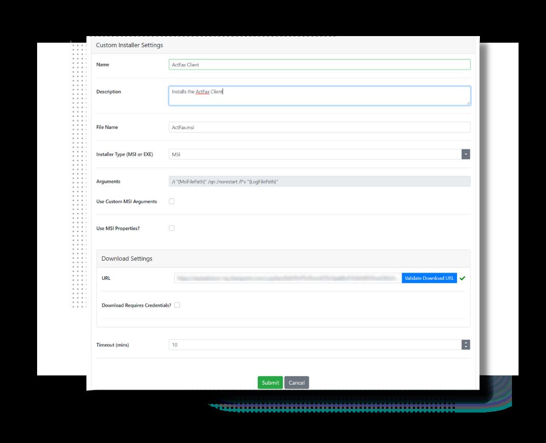 configuration features
